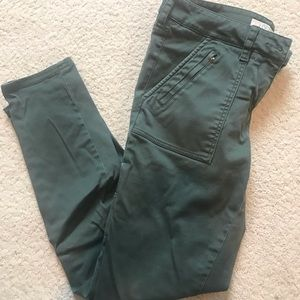 LOFT ARMY GREEN PANTS